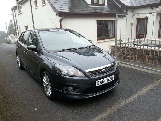 2010 Ford Focus Zetec S 1.6TDCI Right Front