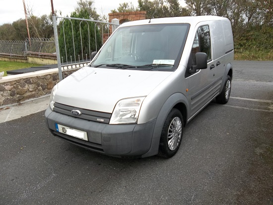 2010 Ford Transit Connect SWB Silver Left Front