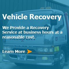 vehicle recovery services waterford
